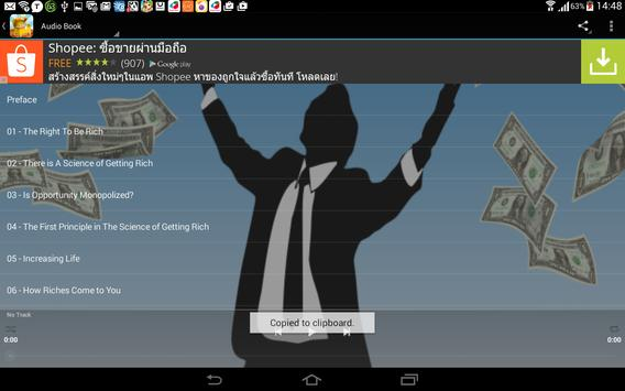 The Science of Getting Rich apk screenshot