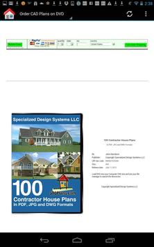 100 House Plans in PDF and CAD apk screenshot