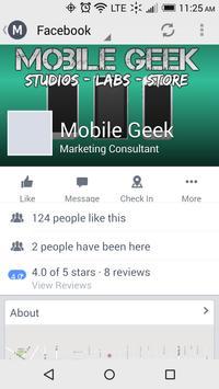 Mobile Geek apk screenshot