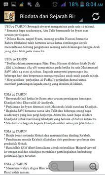 Biodata Nabi Muhammad apk screenshot