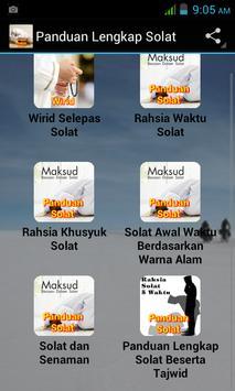Panduan Lengkap Solat apk screenshot