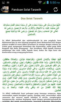 Solat Tarawih apk screenshot