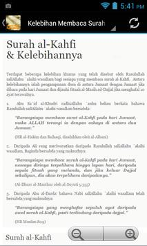 Surah Kahfi Ayat Pelindung poster