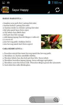 Resepi Sayur Sayuran apk screenshot