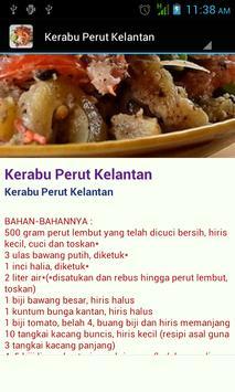 Resepi Kerabu Tradisi poster