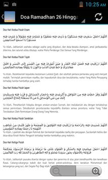 Doa Ramadhan apk screenshot