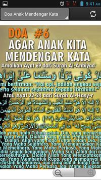 Doa Kepada Anak poster