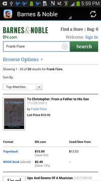 Author Frank Fiore apk screenshot