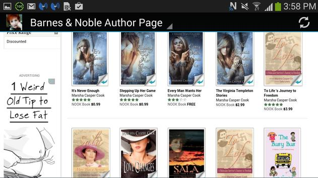 Author Marsha Casper Cook apk screenshot