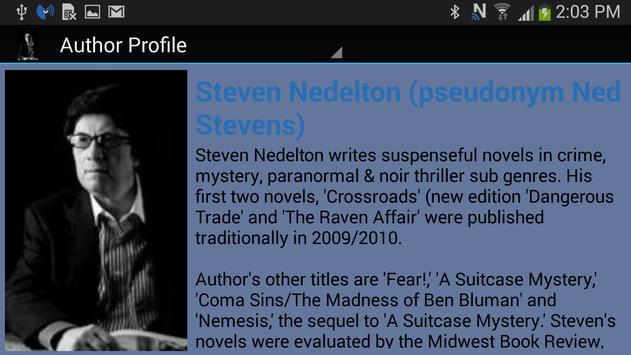 Author Steven Nedelton apk screenshot
