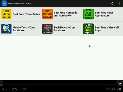 Best Free Business Apps poster