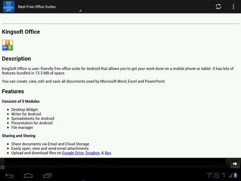 Best Free Business Apps apk screenshot