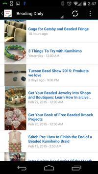 Beading Blogs Free apk screenshot
