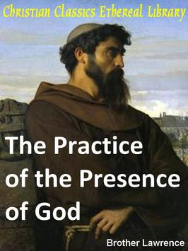 Practicing the presence of God poster