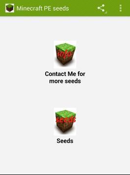 Minecraft PE Seeds apk screenshot