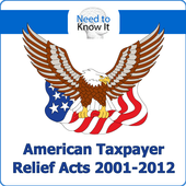 Taxpayer Relief Acts 2001-2012 icon