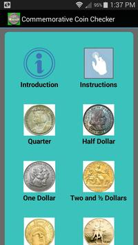 Commemorative Coin Checker poster