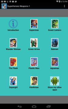 Superheroes Weapons 1 apk screenshot
