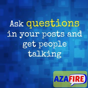 Social Media Tips poster