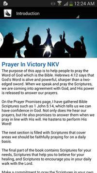 Praying In Victory NKJV apk screenshot
