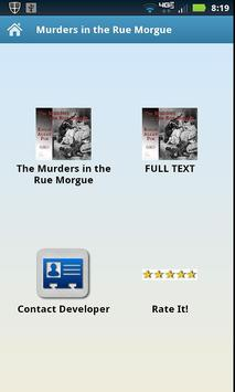 The Murders In The Rue Morgue poster