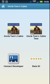 Audio | Text Uncle Tom's Cabin poster