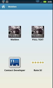 Audio | Text Walden poster