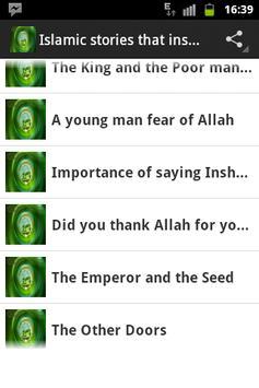 Islamic Stories That Inspire apk screenshot