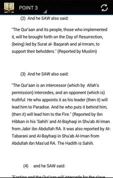 The Virtues of the Quran apk screenshot