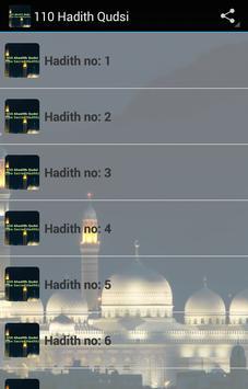 110 Hadith Qudsi poster