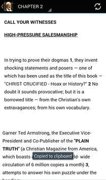 Crucifixion or Cruci-fiction apk screenshot