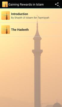 Gaining Rewards in Islam poster