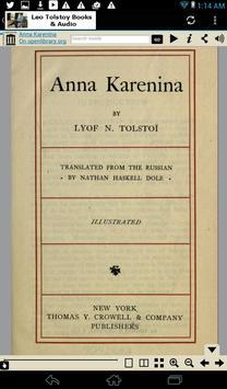 Leo Tolstoy Books & Audio apk screenshot