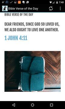 Bible Verse of the Day apk screenshot