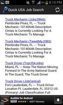 Quick Job Search USA apk screenshot