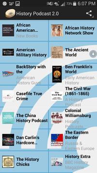 History Podcast 2.0 apk screenshot