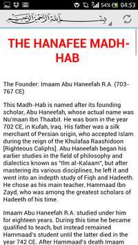 Islamic Madhabs apk screenshot