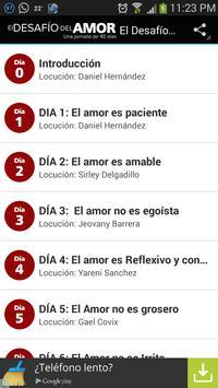 El Desafío del Amor apk screenshot