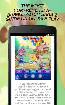 Guide for Bubble Witch Saga 2 poster