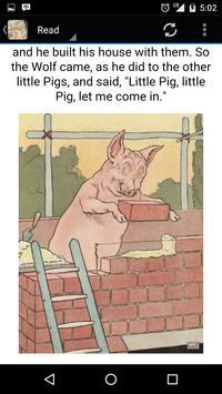 The Story of 3 Little Pigs apk screenshot