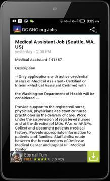 Washington Jobs Search apk screenshot
