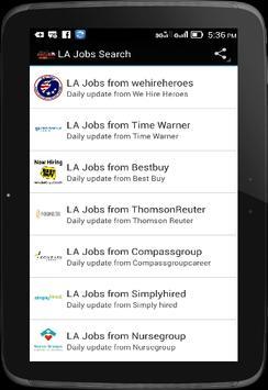 LA Jobs Search apk screenshot