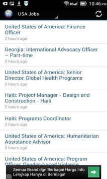 UN Jobs Search apk screenshot