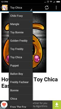 How To Draw FNAF Characters apk screenshot