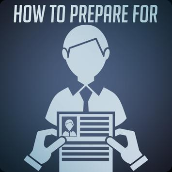 Prepare for an Interview poster