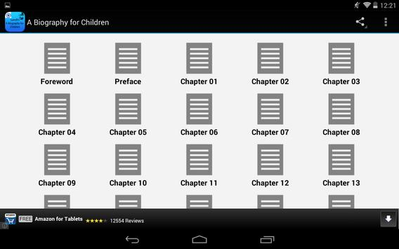A Biography for Children apk screenshot