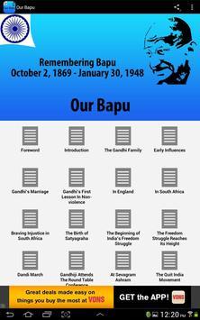 Our Bapu poster