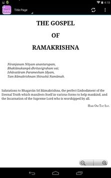 The Gospel of Ramakrishna apk screenshot