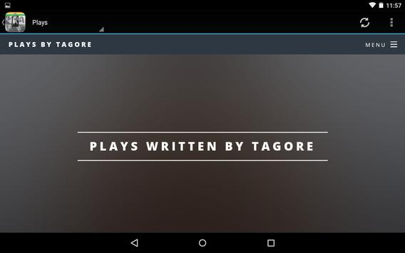 Writings of Tagore apk screenshot