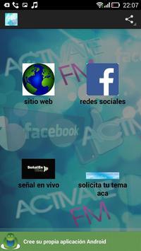 activatefm.cl poster